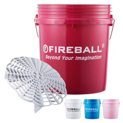 FIREBALL WASH BUCKETS WITH GRIT TRAPS